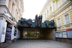 Lithuanian National Drama Theatre in Vilnius Royalty Free Stock Photos