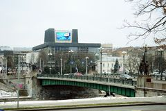 Lithuanian National Opera and Ballet Theatre. Vilnius city. Stock Image