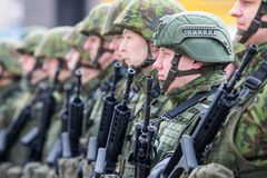 Lithuanian NATO soldiers. The North Atlantic Treaty Organization, also called the North Atlantic Alliance, is an intergovernmental military alliance between 29 royalty free stock photos