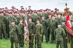Lithuanian NATO soldiers. The North Atlantic Treaty Organization, also called the North Atlantic Alliance, is an intergovernmental military alliance between 29 stock images