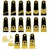 Lithuanian Navy insignia Stock Photos