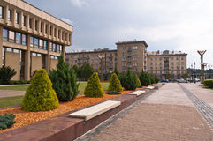 Lithuanian Parliament Buildings Stock Photos