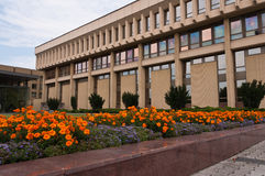 Lithuanian Parliament Buildings Royalty Free Stock Photos