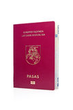 Lithuanian passport. Royalty Free Stock Photography