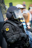 Lithuanian Police Anti-terrorist Operations Unit ARAS officer Stock Photography