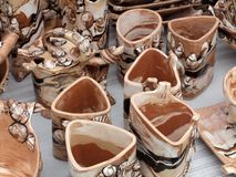 Lithuanian pottery Stock Image