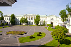 Lithuanian president palace in capital Vilnius Stock Photography