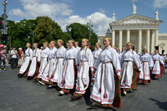 Lithuanian Song Celebration Stock Images
