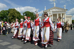 Lithuanian Song Celebration Royalty Free Stock Photo