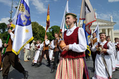 Lithuanian Song Celebration Stock Photography