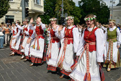 Lithuanian Song Celebration Royalty Free Stock Photos