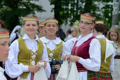 Lithuanian Song Celebration Royalty Free Stock Image