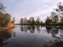 Lithuanian spring landscape Stock Photo