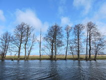 Lithuanian spring landscape Stock Photography