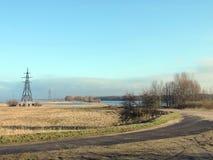 Lithuanian spring landscape Stock Photos