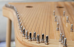 Lithuanian stringed instrument. Popular ancient Lithuanian stringed instrument Royalty Free Stock Image