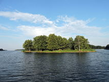 Lithuanian summer landscape Royalty Free Stock Photography