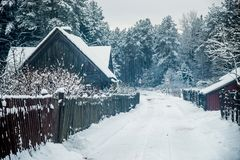 Rural countryside Royalty Free Stock Photography