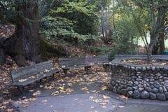 Litier parkerar Ashland, Oregon Arkivbilder