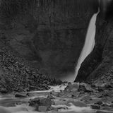 Litlanesfoss Foto de archivo