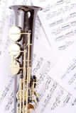 Litle. Musical background � instruments. Shot in studio Royalty Free Stock Image