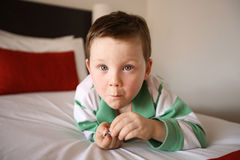 Litle Boy Royalty Free Stock Image