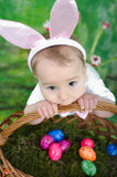 Litle Easter bunny stock image