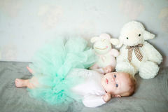 Litle girl Royalty Free Stock Image