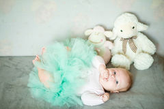 Litle girl Royalty Free Stock Images