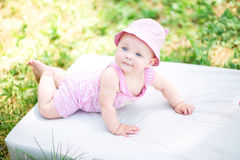 Litle girl Royalty Free Stock Photo