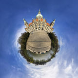 Litle planet Hannover Stock Photography