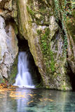 Litle waterfall Stock Image