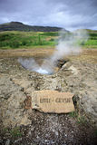 Litli Geysir Royalty Free Stock Photos