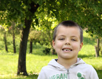 Litlle boy Royalty Free Stock Photo