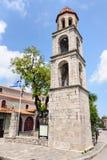 Litochoro, Greece, central square Royalty Free Stock Photo