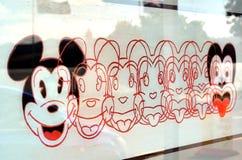 Litografiet Mickey till Tiki Royaltyfria Foton