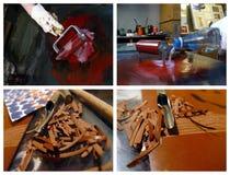 litografii procesu scena Fotografia Stock