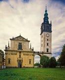 Litomerice - καθεδρικός ναός του ST Stephen Στοκ φωτογραφίες με δικαίωμα ελεύθερης χρήσης