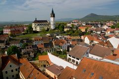 Litomerice Royalty Free Stock Photo