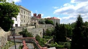 Litomerice, Boemia, repubblica Ceca stock footage