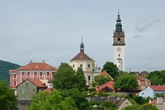 Litomerice, Czech republic Royalty Free Stock Photo