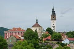 Litomerice, Czech republic Royalty Free Stock Photo