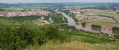 Litomerice, Czech republic Stock Photo