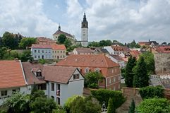 Litomerice, republika czech Obrazy Stock