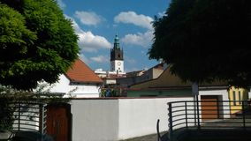 Litomerice-Stadt Stockfotos