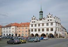 Litomerice, Tsjechische republiek Stock Afbeelding
