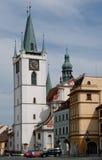 Litomerice, Tsjechische republiek Royalty-vrije Stock Foto