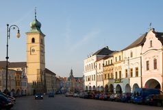 Litomysl,捷克共和国 库存照片