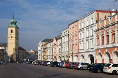 Litomysl,捷克共和国 库存图片