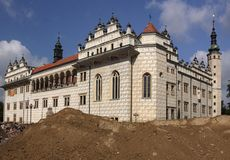Litomysl castle Royalty Free Stock Images
